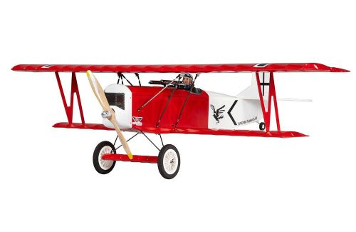 Super Flying Model Fokker DVII EP ARTF Red A-SFMEP46A